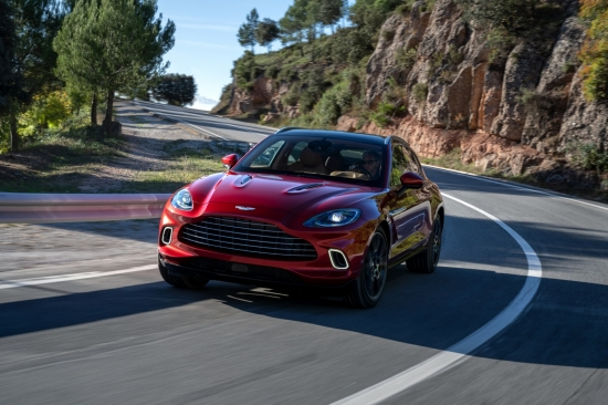 THE FIRST SUV IN THE HISTORY OF ASTON MARTIN